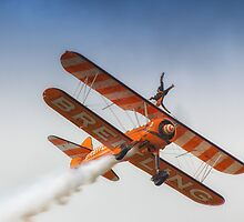 Breitling Wing Walker handstand by Dean Messenger