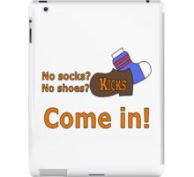 Kicks Show Store Logo iPad Case/Skin