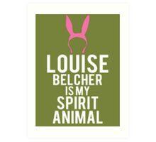 Louise Spirit Animal Art Print