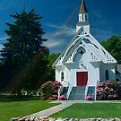 Little White Church by Linda Jackson