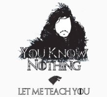 Teaching Jonny Snow by kayllisti