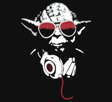 Red DJ Yoda by imagoalie