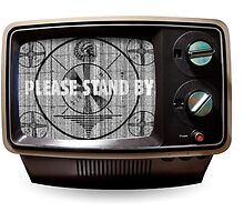 Please Stand By Vintage TV by JakeLovesPhoto