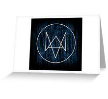 Watchdogs: The Digital Rune Greeting Card