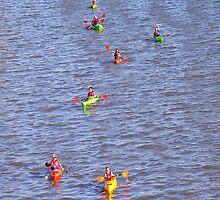 Kayaks!  We don't need no stinking Kayaks! by Matsumoto