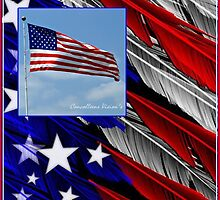 July Beginnings,Freedom Flys by Connie Smith