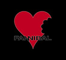 Fannibal Love - black by JennK777