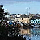 Stornoway Reflections by kathrynsgallery
