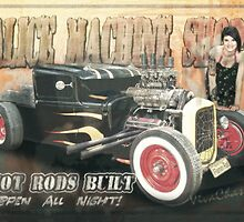 Hot Rods Built at the Alice Machine Shops Open All Night by ChasSinklier