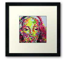 LANA DEL REY / EYES WIDE SHUT Framed Print