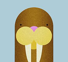 Peekaboo Walrus by iwood2012