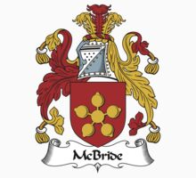 McBride Coat of Arms / McBride Family Crest Kids Clothes