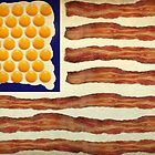 Egg'n'Bacon Flag by ArtByRuta