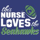 Seahawk Nurse Shirt (Womans) by WelfareTaco