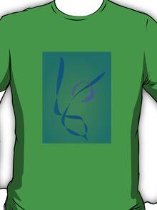 Abstract Rabbit Green T-Shirt