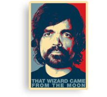 Destiny - That Wizard Came From The Moon Canvas Print
