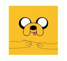 Adventure Time - Jake The Dog Art Print