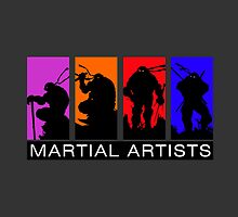 Martial Artists by AlexKramer