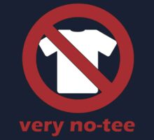 Naughty No tee by newbs