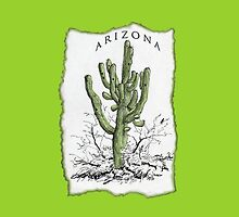 Arizona Saguaro art by DAdeSimone