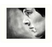 Sherlock - A Study In Pink - Black & White Art Print