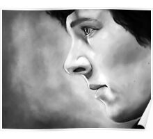 Sherlock - A Study In Pink - Black & White Poster