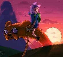 Morning, Ooo! - Adventure Time by Affanita