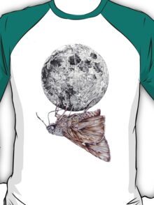 In which a moth is enticed by the light of the moon T-Shirt