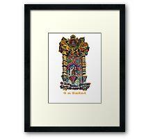 4 a Saint Framed Print