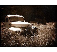 Abandoned International  Photographic Print