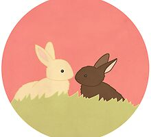 Two Bunnies by CarlyWatts