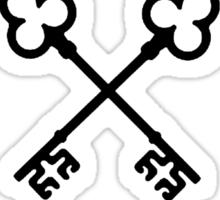 Grand Budapest Hotel Society of Crossed Keys  Sticker