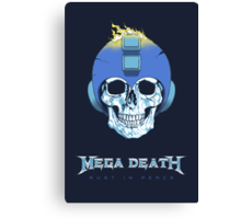 Mega Death Canvas Print