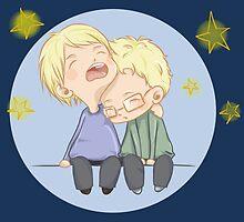 Haikyuu!! - Tsukishima Brothers 01 by TrashCat