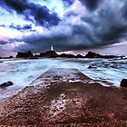 Corbiere before the storm by Gary Power  by jerseygallery