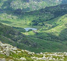 Blea Tarn From Wetherlam by Jamie  Green