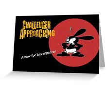 Oswald Approaching Greeting Card