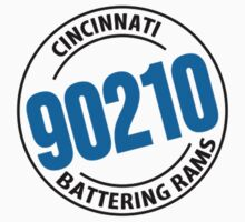 90210 from the Cincinnati Battering Rams T-Shirt by NineOh