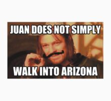 Juan Simply Does Not Walk Boramir Meme by formulapod