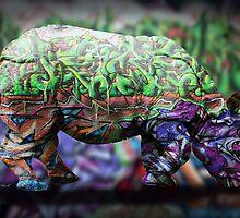 Rhino by motiashkar
