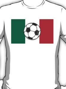 Flag of Mexico | Soccer ball T-Shirt