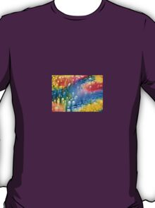 The Coral-Abstract T-Shirt