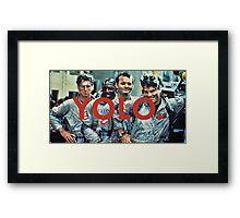 YOLO Ghostbusters Framed Print