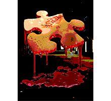 Jigsaw Piece of Flesh Photographic Print