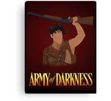 Army of Darkness - This... is my Boomstick! vector  Canvas Print