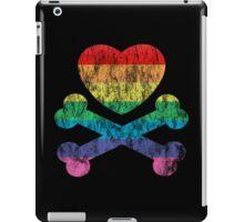 heart and crossbones iPad Case/Skin