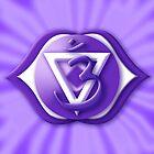 6th Chakra Symbol - 3rd Eye - Ajna by haymelter