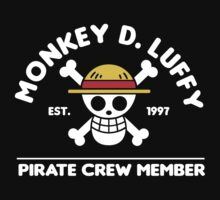 Monkey D. Luffy crew member by CarloJ1956