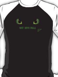 Team Night Fury - Black Only T-Shirt