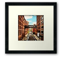 A view from the High Line, New York City Framed Print
